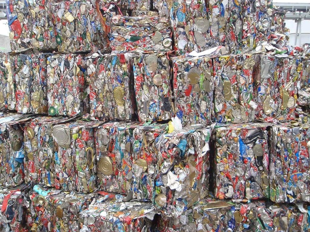 Almacenamiento de productos reciclables