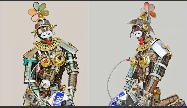 Trash Formers Esculturas Hechas De Material Reciclado Complejo