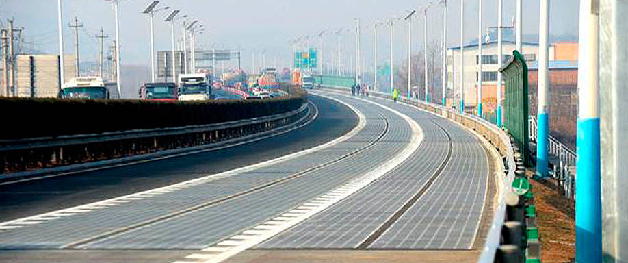 Autovía renovable en China
