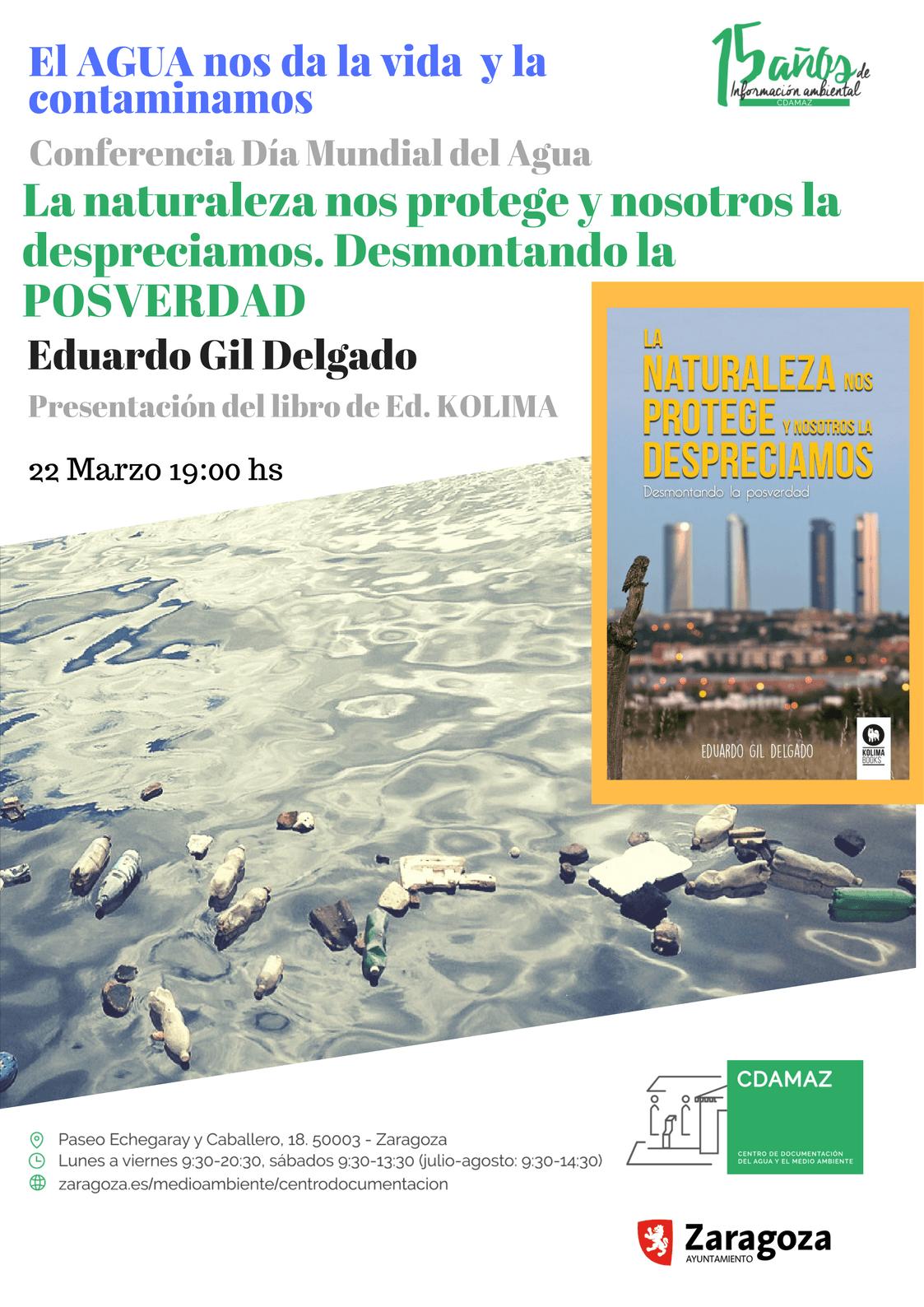 Acto Medio Ambiente Día Mundial del Agua en Zaragoza