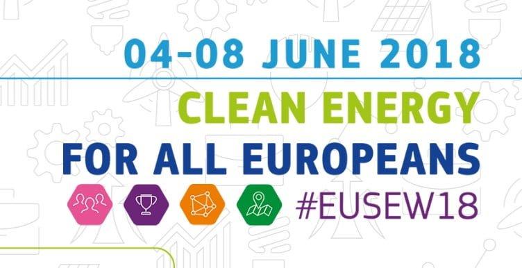 Semana Europea de la Energía Sostenible 2018 (EUSEW)