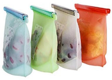 Bolsas de silicona para alimentos