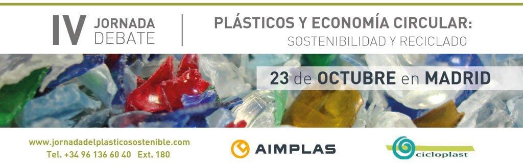 Plásticos y economía circular: sostenibilidad y reciclado (Madrid)