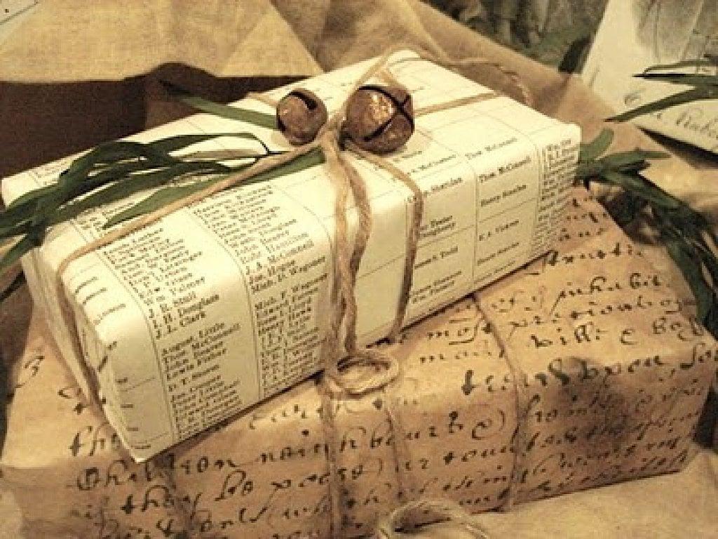 Evita el embalaje y la envoltura excesiva de regalos
