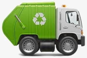 ¿Se mezclan los residuos en el camión durante su recogida?