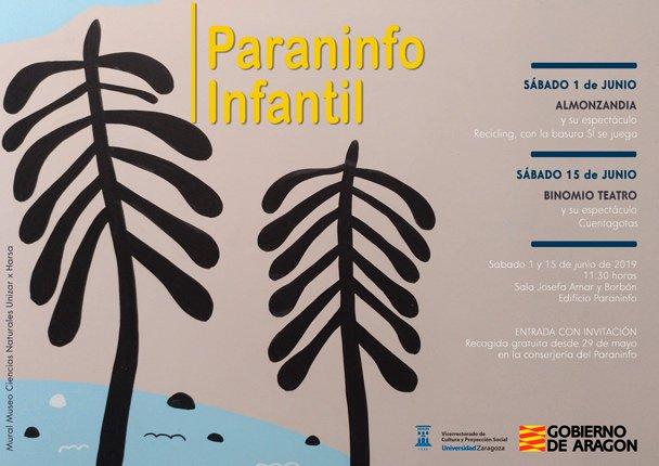 El Paraninfo organiza espectáculos infantiles relacionados con el reciclaje y el medio ambiente