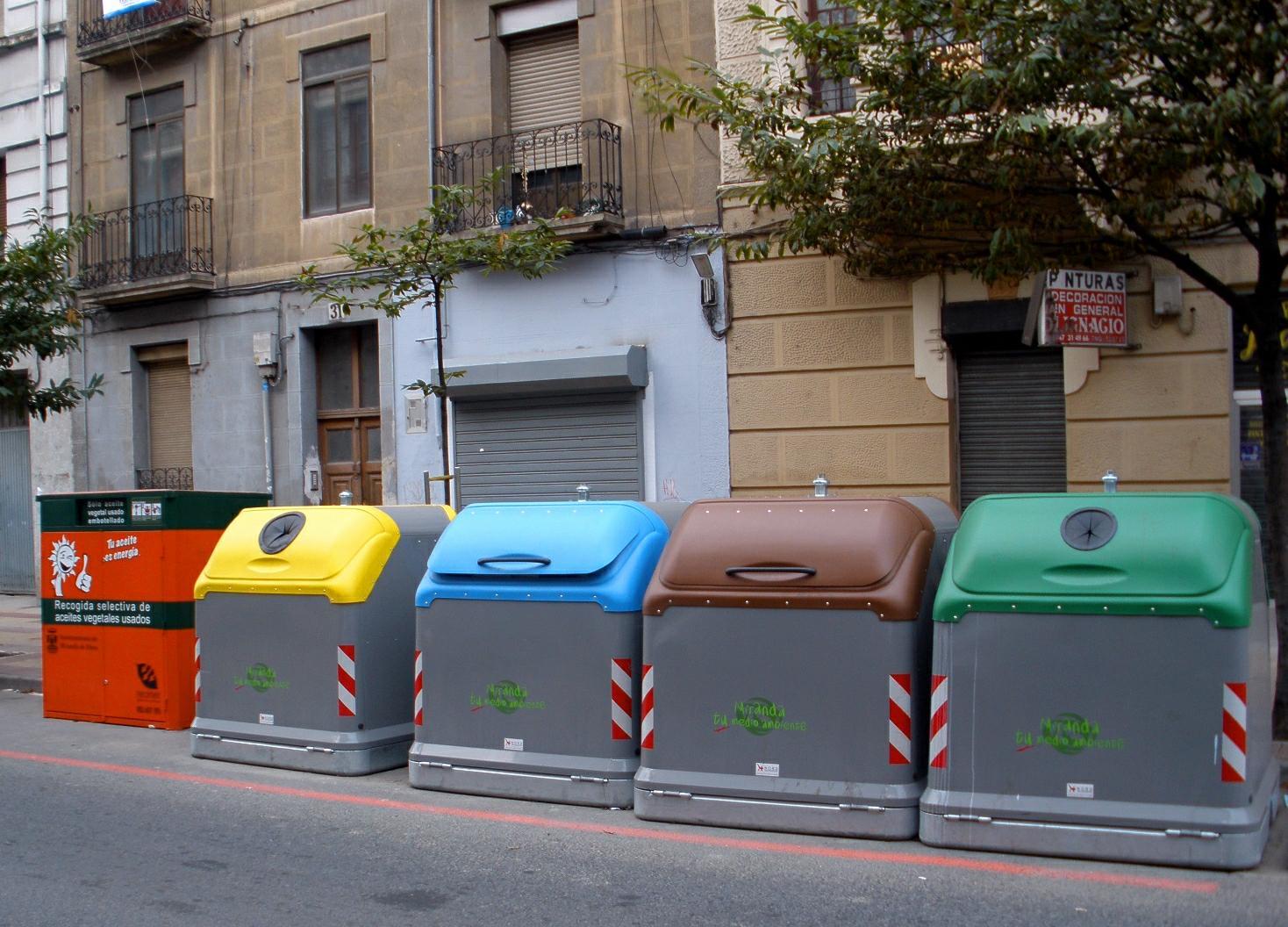 Cinco errores que comentemos al reciclar