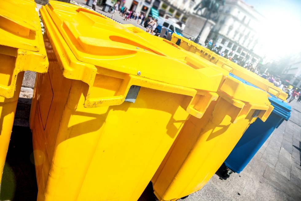 Los aragoneses llenarán los contenedores amarillos un 7% más en 2019