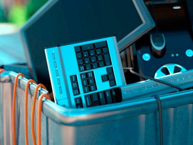 Aragón recicló más de 1.350 toneladas de residuos electrónicos en el primer trimestre de 2020