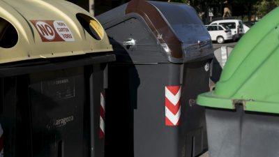 El reciclaje de envases, papel y vidrio sube en el estado de alarma, pero la basura orgánica baja en Zaragoza