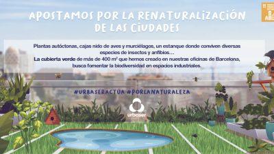Urbaser promueve la protección de la biodiversidad a través de proyectos de conservación del medio natural