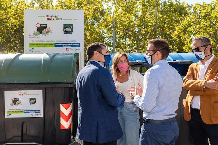Zaragoza fomenta el uso adecuado de sus 4.000 contenedores