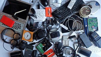 Ayuda al medio ambiente con el reciclaje de los pequeños electrodomésticos